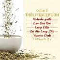 Coffret 5 thés d'exception